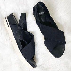 Eileen Fisher Slingback Low Platform Sandals